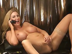 Big Boobs Blonde British MILF POV