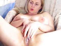Amateur BBW Big Boobs Masturbation