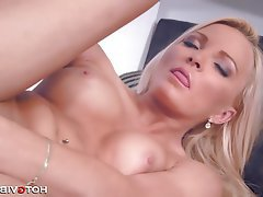 Amateur Big Boobs Blonde Double Penetration
