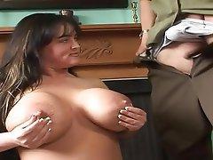 Big Boobs Blowjob Brunette Mature