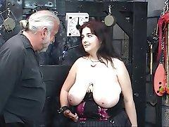 BDSM Blowjob Big Boobs Brunette BBW