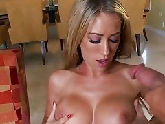Big Boobs Blonde Cumshot Hardcore