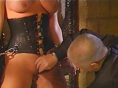 BDSM Big Boobs Blonde Latex