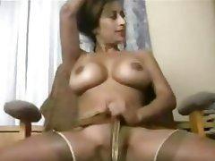 Big Boobs Indian Stockings