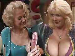 Carol gets the baps out - 2 9
