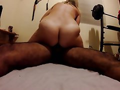 Amateur Hairy Interracial Swinger Wife