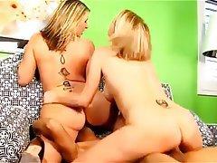 Big Boobs Mature Cumshot Group Sex Threesome