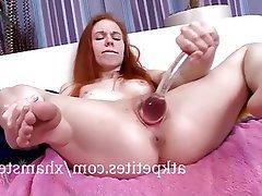 Masturbation Redhead Teen Pussy