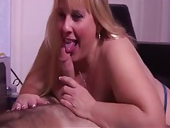 BBW Big Boobs Blonde Mature MILF