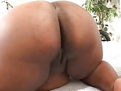 BBW Big Boobs Interracial POV