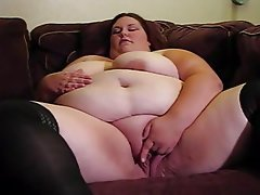 BBW Big Boobs Masturbation