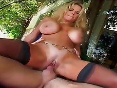 Babe Big Boobs Blonde Cumshot