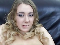 Big Boobs Blonde British Masturbation Stockings