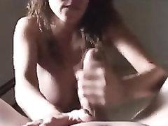 Big Cock Big Tits Blowjob POV Amateur