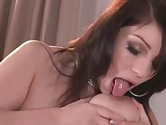 Big Boobs Brunette Masturbation Nipples