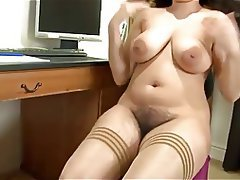 Big Boobs Hairy Masturbation