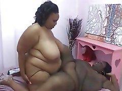 BBW Big Boobs Big Butts Lesbian
