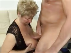 BBW Big Boobs Big Butts Granny Stockings