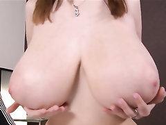 Babe Big Tits Ebony Blowjob Stockings