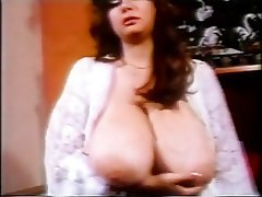 Babe Big Boobs Brunette Masturbation Vintage