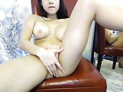 Asian Big Boobs Masturbation Webcam