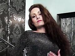 Babe Big Tits Blowjob Panties Stockings