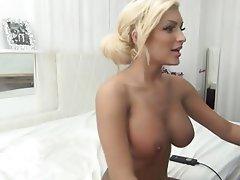 Big Boobs Blonde Masturbation Webcam