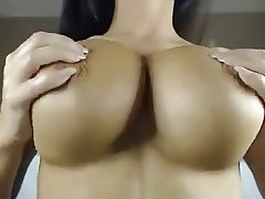 Big Boobs British Brunette Masturbation Webcam