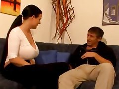 Big Boobs Brunette German Mature MILF