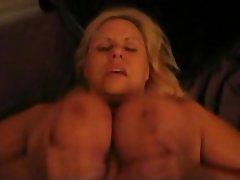 Amateur BBW Big Boobs Blonde