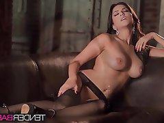 Babe Big Boobs Brunette Masturbation Pornstar