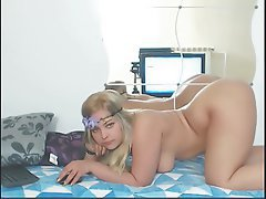 Amateur Babe Big Boobs Blonde Webcam