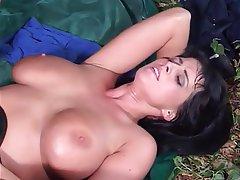 Blowjob Big Boobs Brunette Pornstar
